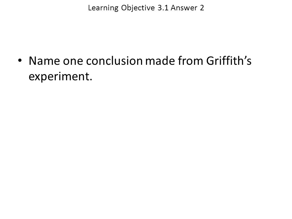 Learning Objective 3.1 Answer 2