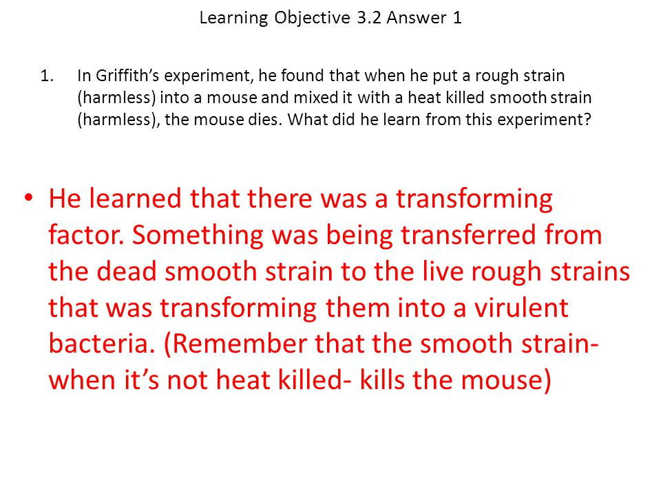 Learning Objective 3.2 Answer 1