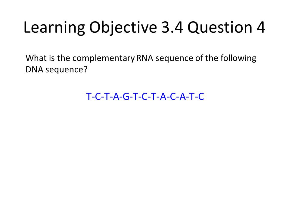 Learning Objective 3.4 Question 4