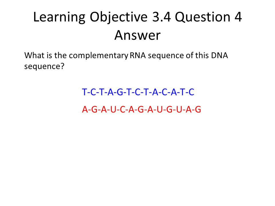 Learning Objective 3.4 Question 4 Answer