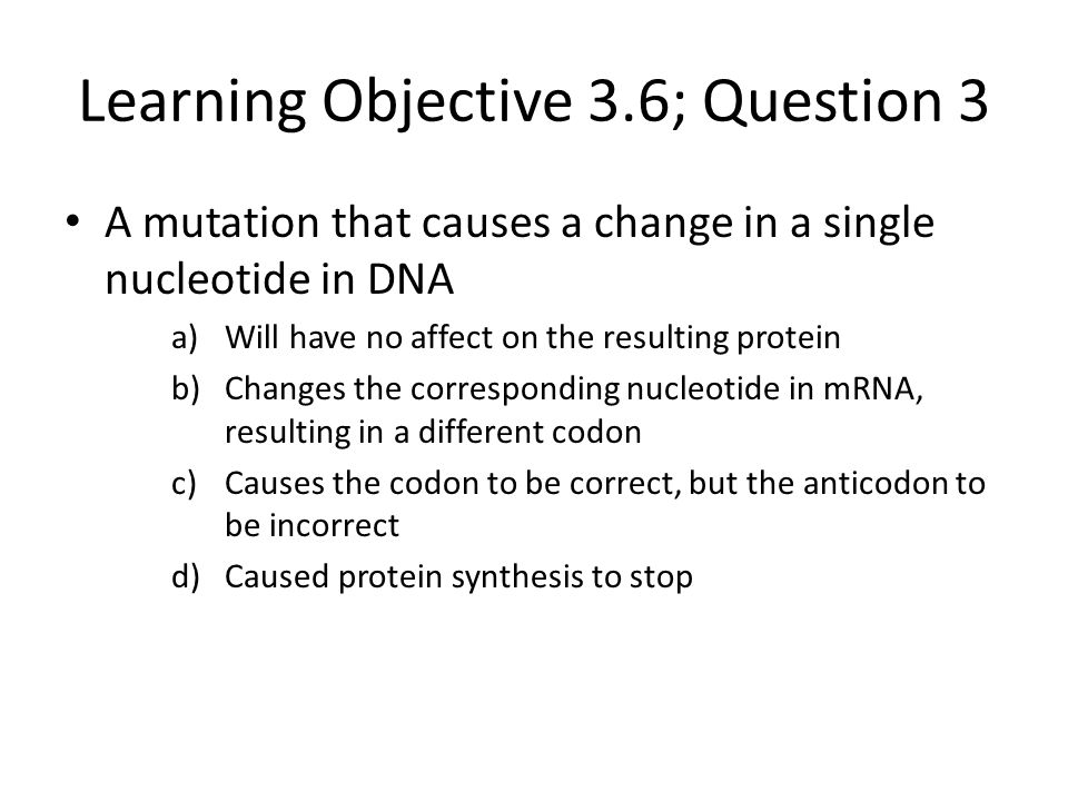 Learning Objective 3.6; Question 3