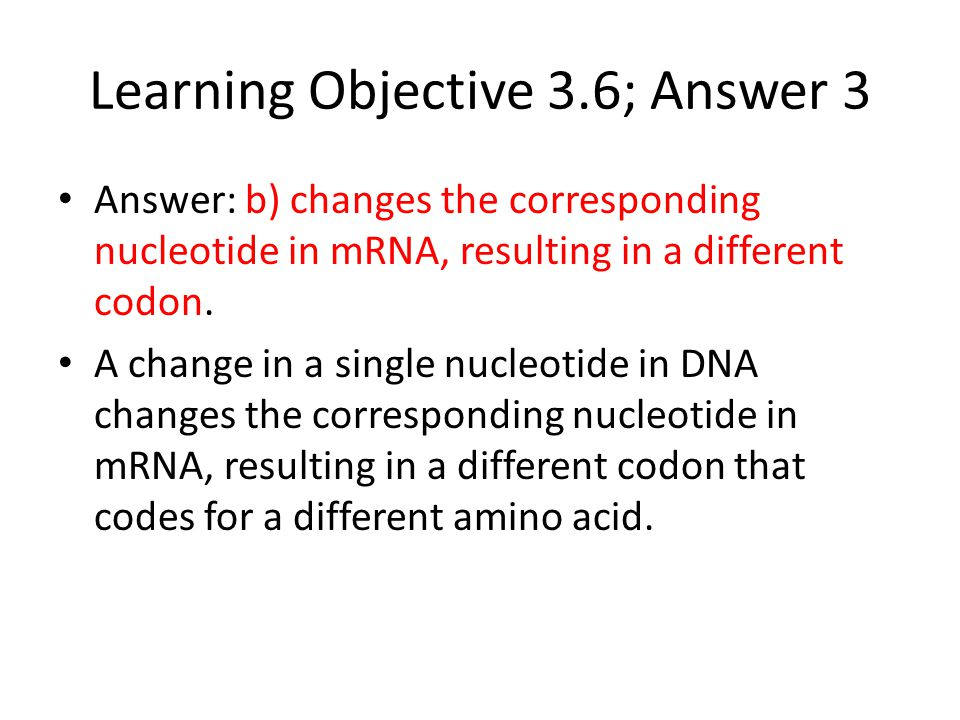Learning Objective 3.6; Answer 3