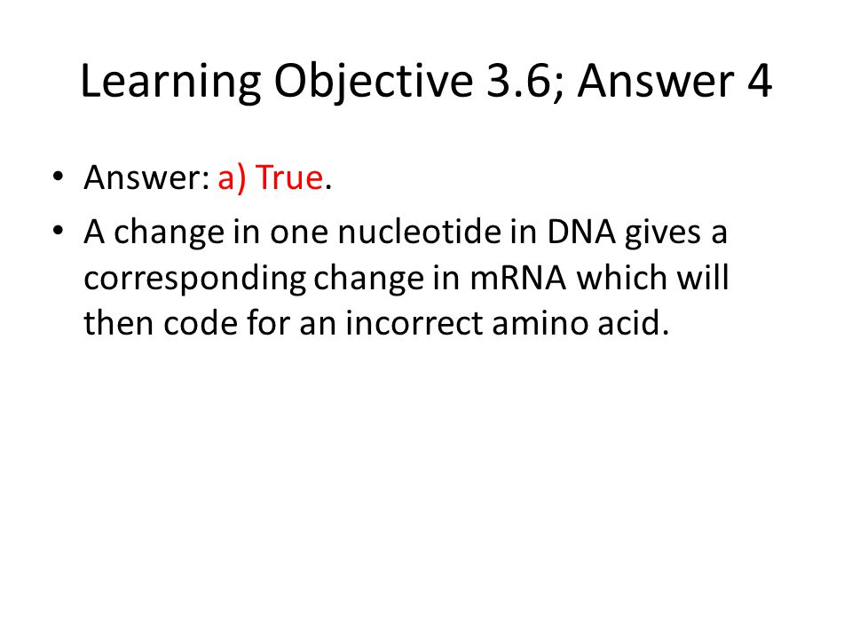 Learning Objective 3.6; Answer 4