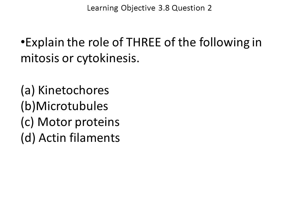 Learning Objective 3.8 Question 2