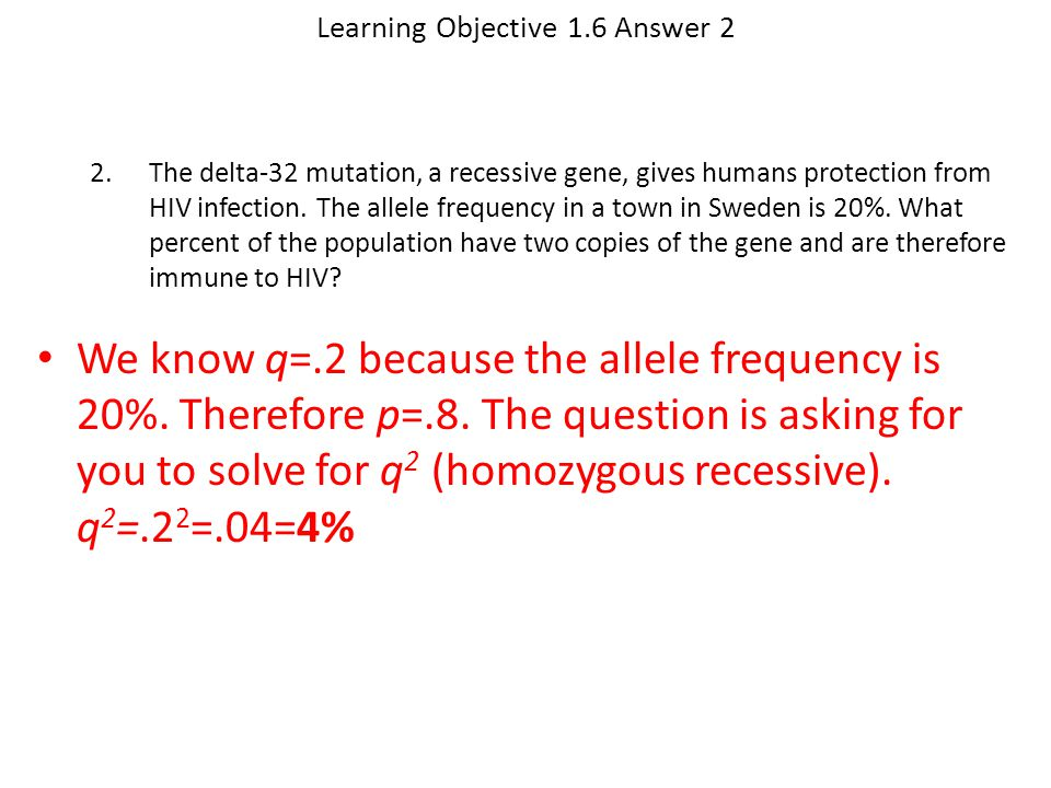 Learning Objective 1.6 Answer 2