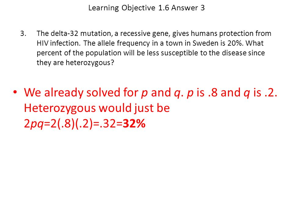 Learning Objective 1.6 Answer 3
