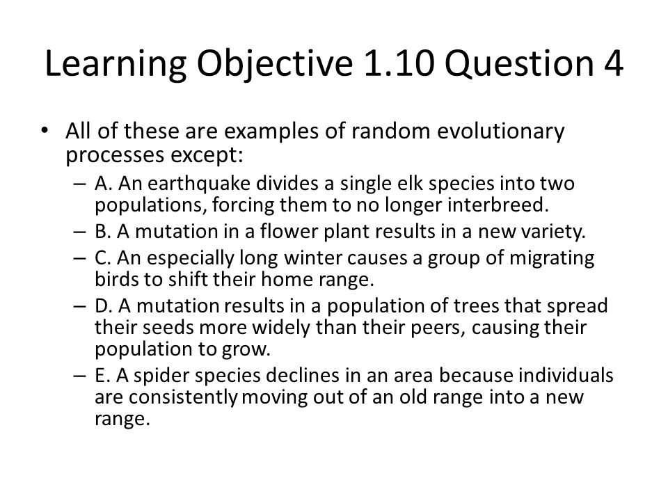 Learning Objective 1.10 Question 4