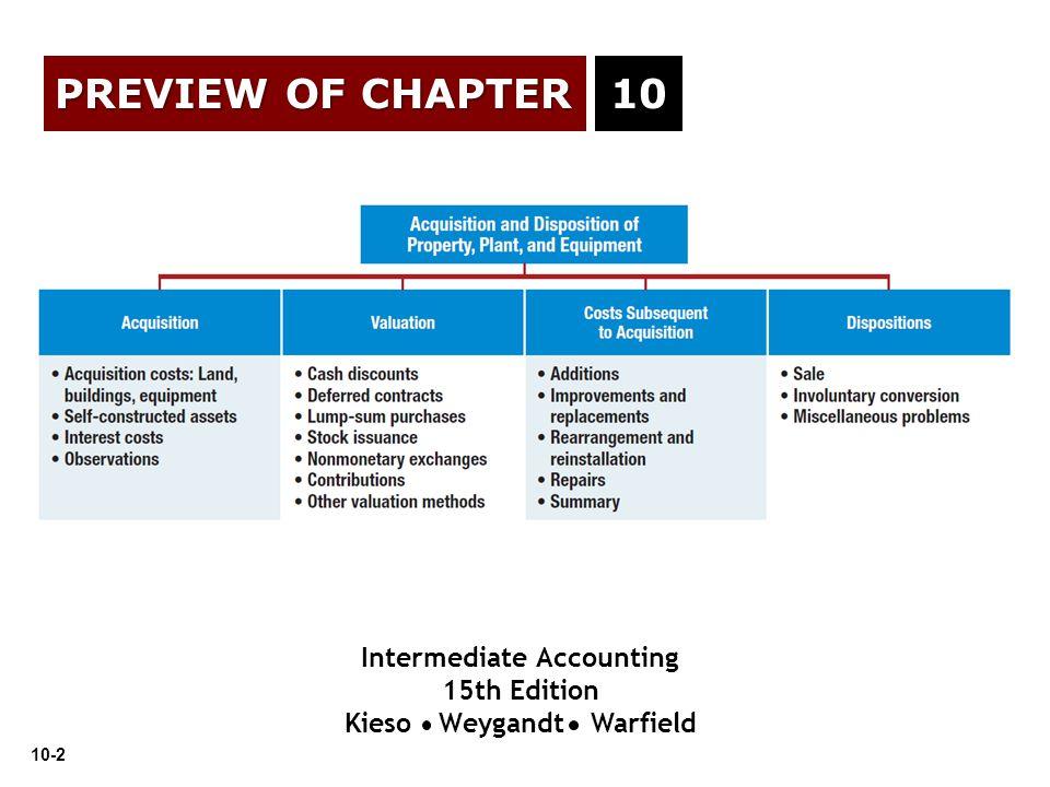 Intermediate Accounting Kieso Weygandt Warfield