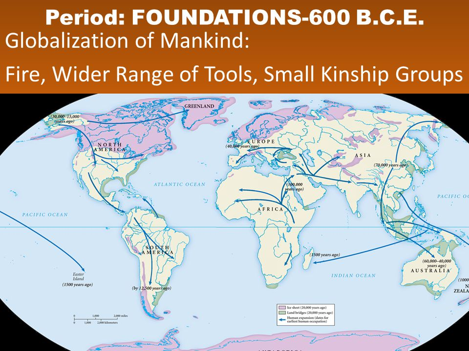 Period: FOUNDATIONS-600 B.C.E.