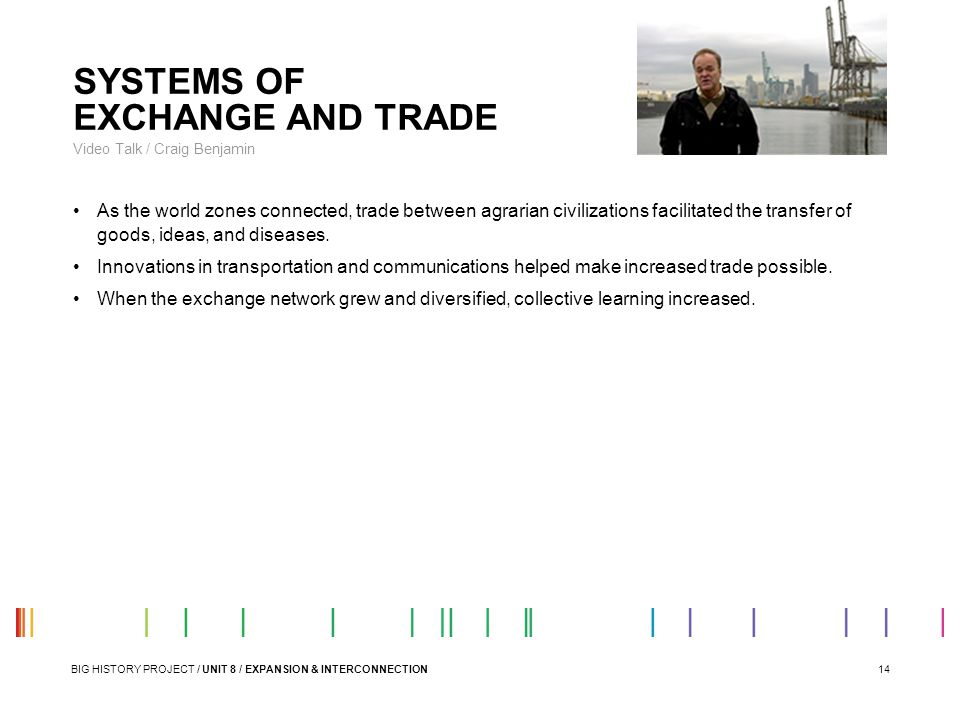 SYSTEMS OF EXCHANGE AND TRADE