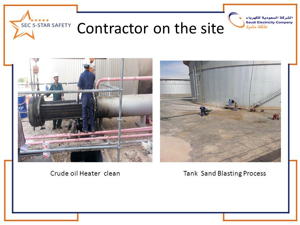 Tank Sand Blasting Process