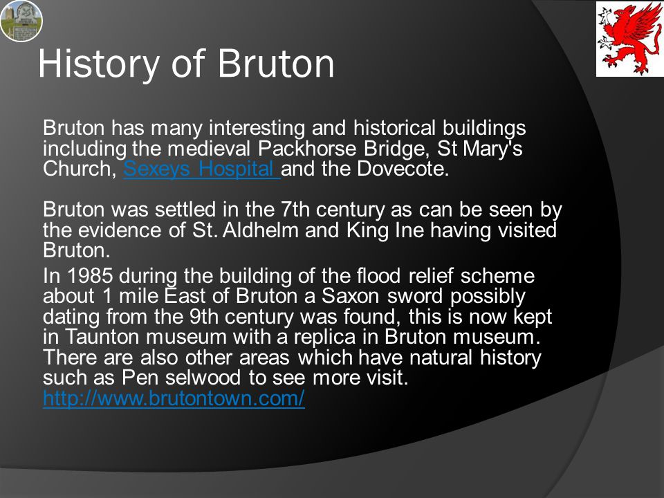 History of Bruton