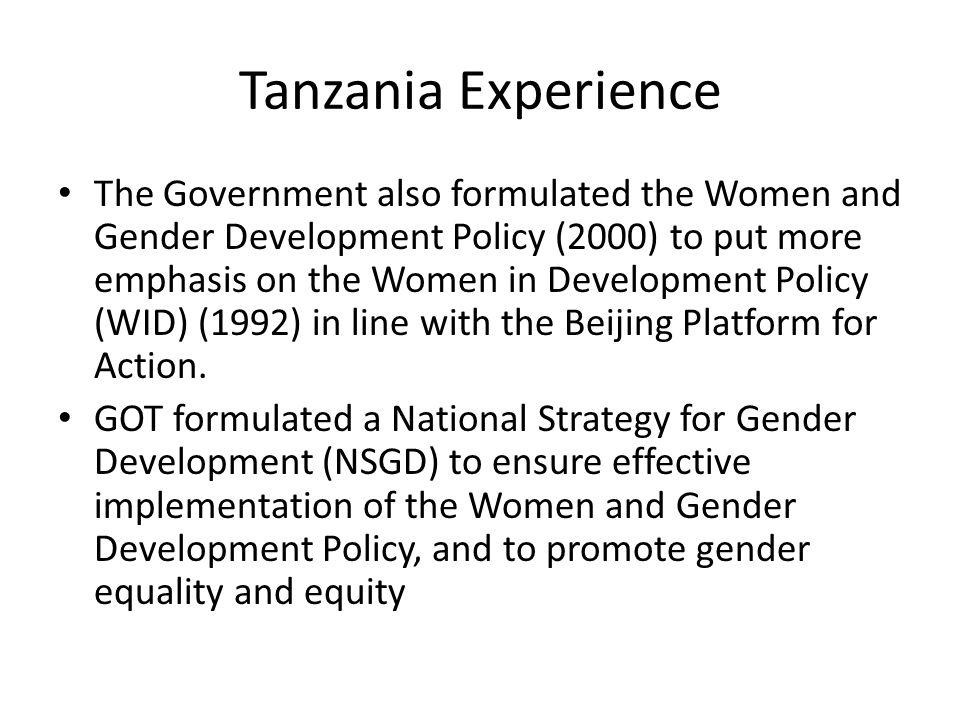 Tanzania Experience