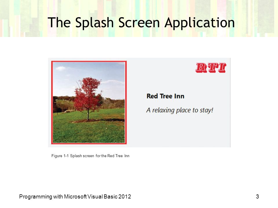 The Splash Screen Application