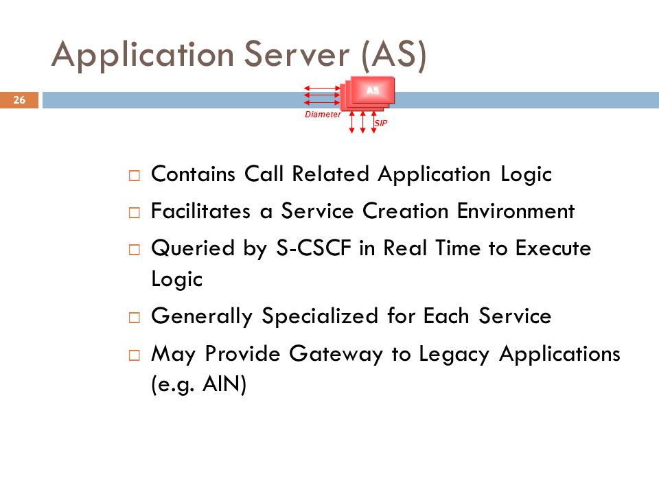 Application Server (AS)