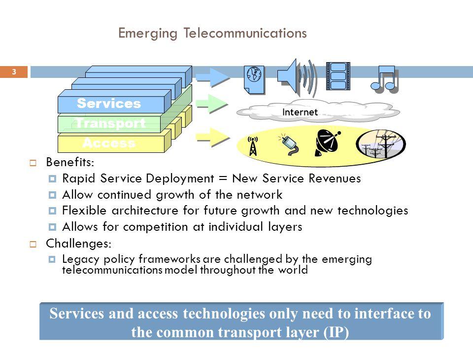 Emerging Telecommunications