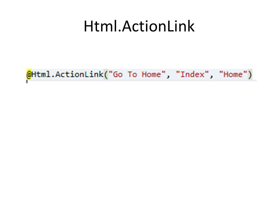 Html.ActionLink