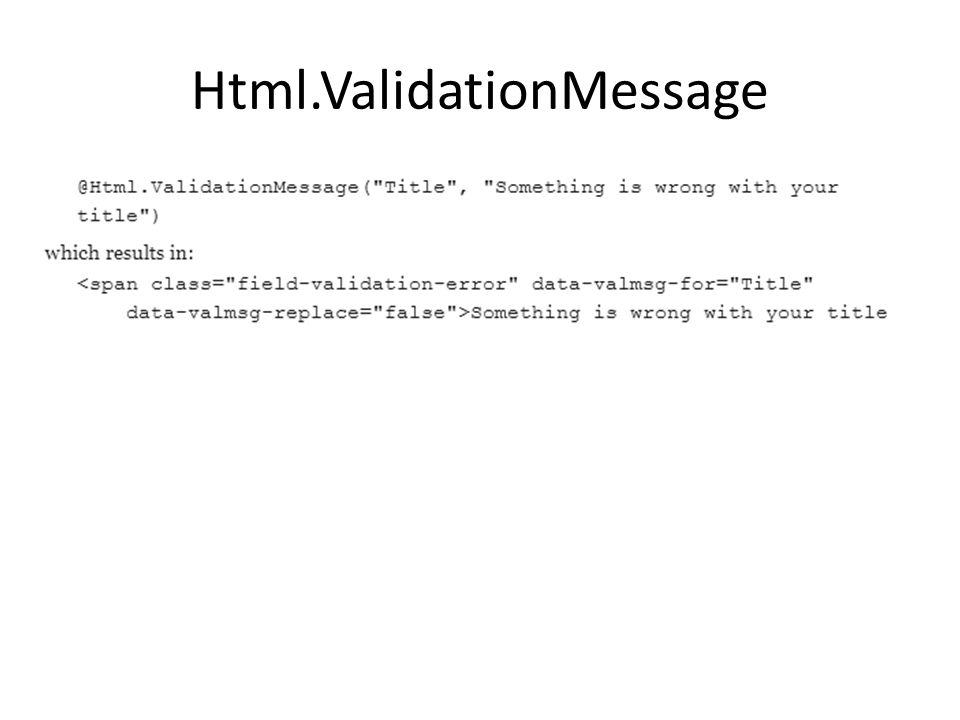 Html.ValidationMessage