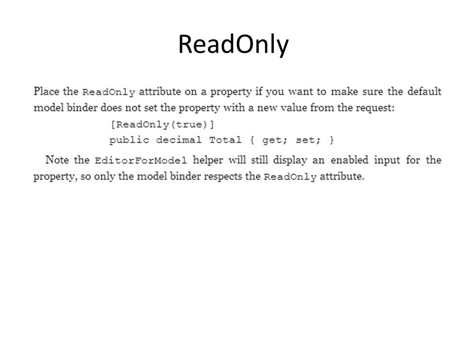 ReadOnly