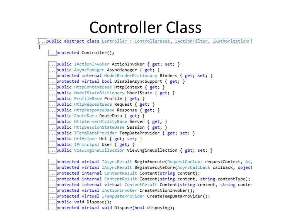 Controller Class