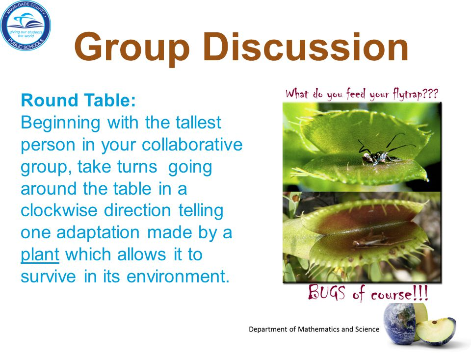 Group Discussion Round Table: