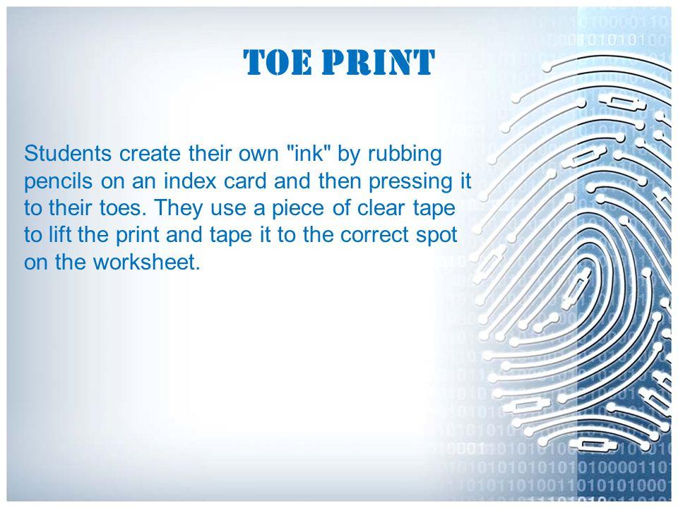 Toe Print