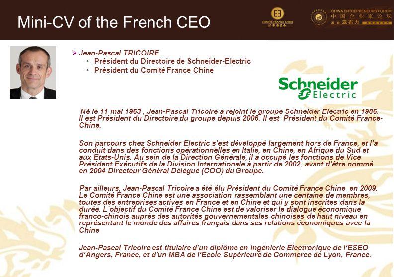 Mini-CV des Membres de la Délégation Officielle (3)