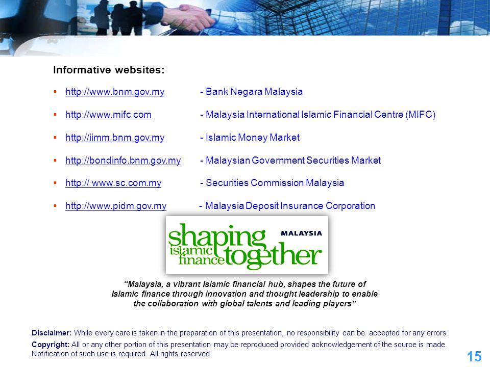 Informative websites: