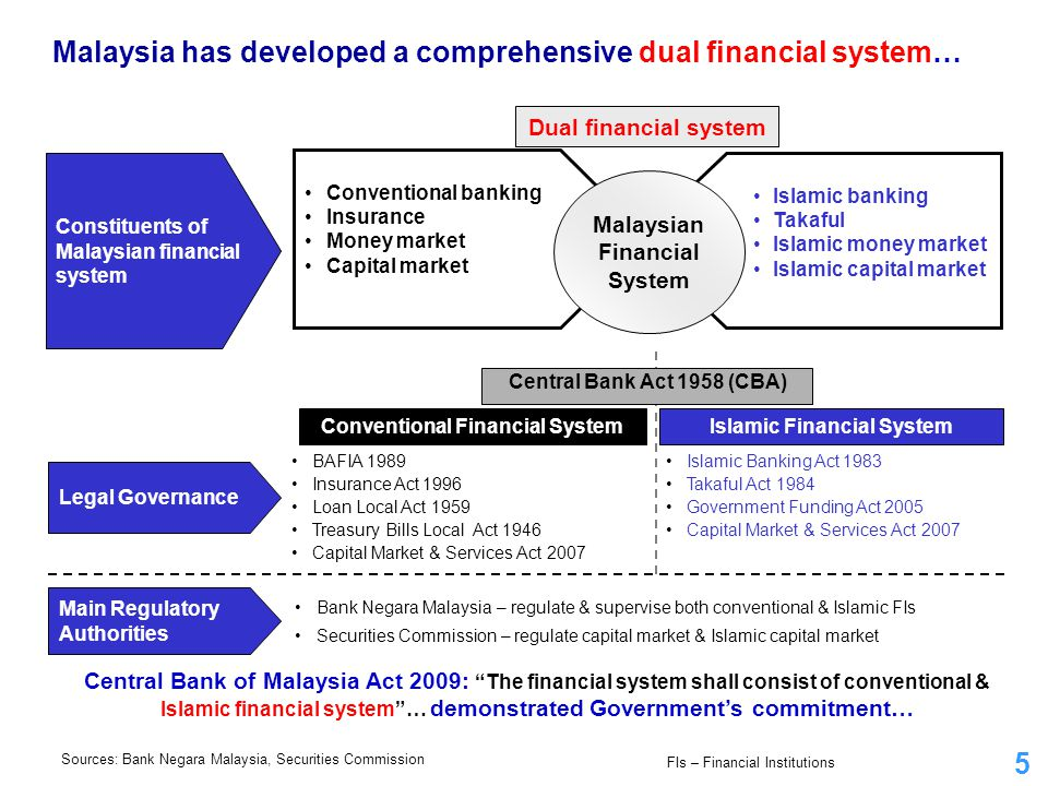 Conventional Financial System Islamic Financial System