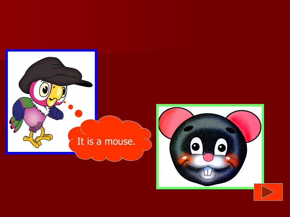 It is a mouse.