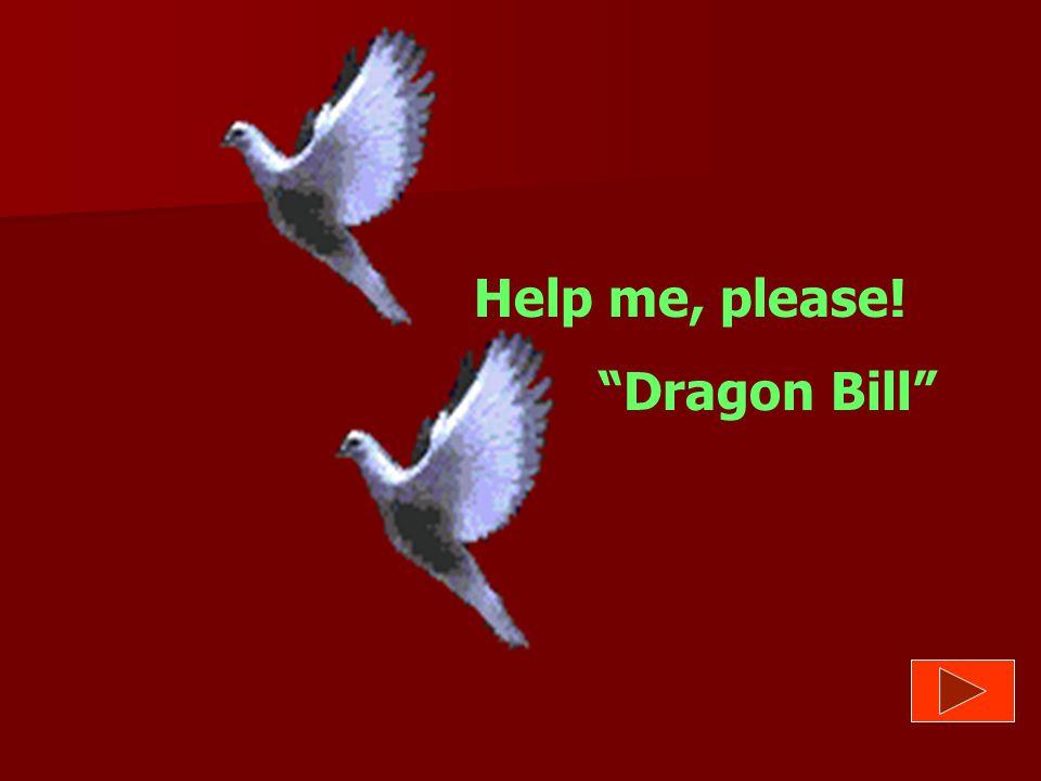 Help me, please! Dragon Bill