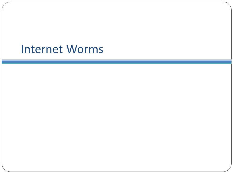 Internet Worms