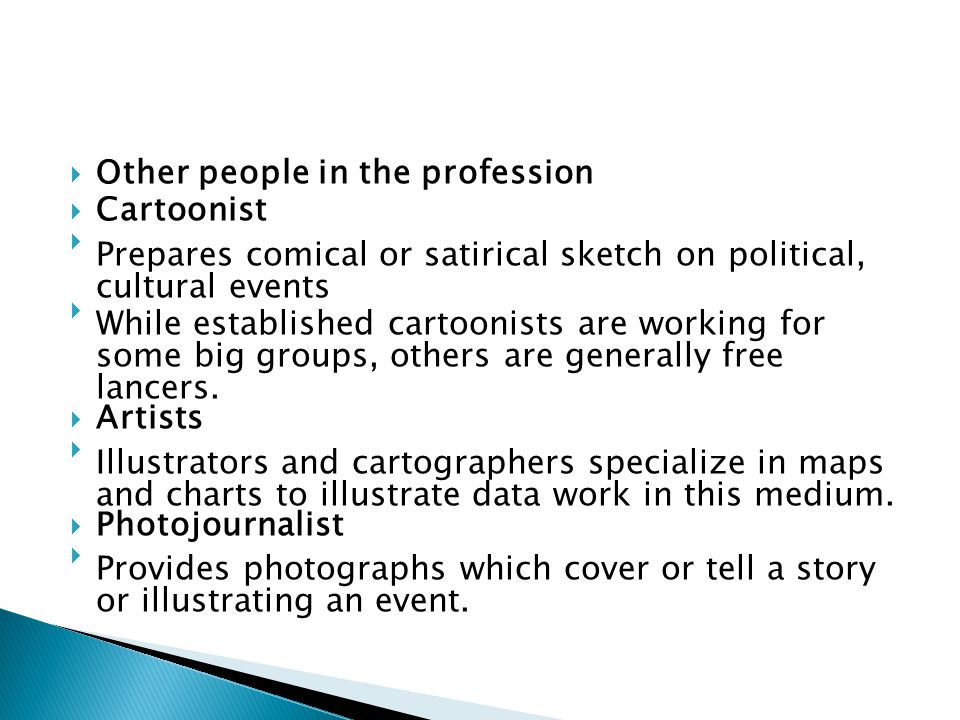 Other people in the profession