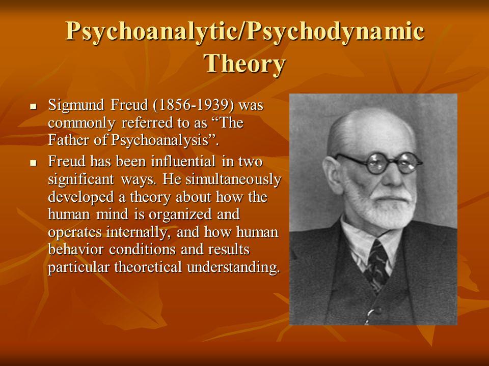 Psychoanalytic/Psychodynamic Theory