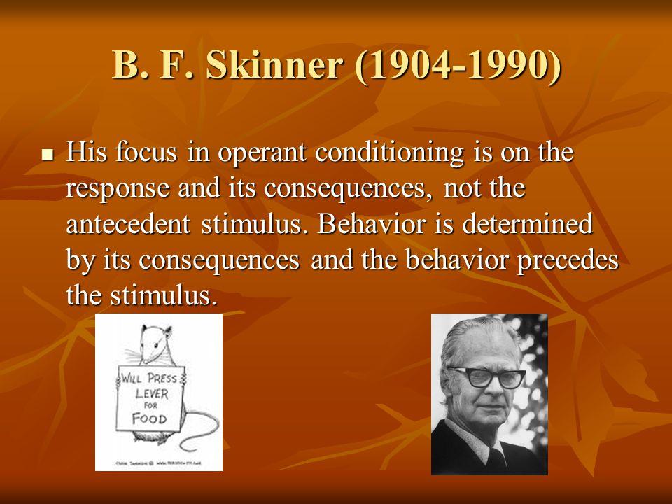 B. F. Skinner (1904-1990)