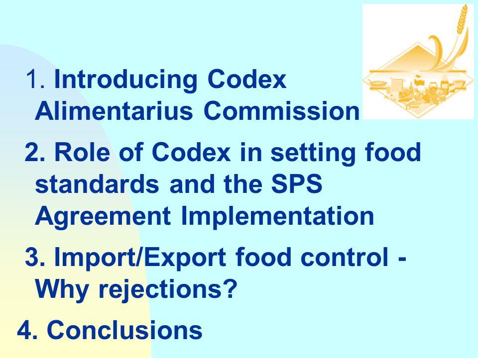 1. Introducing Codex Alimentarius Commission