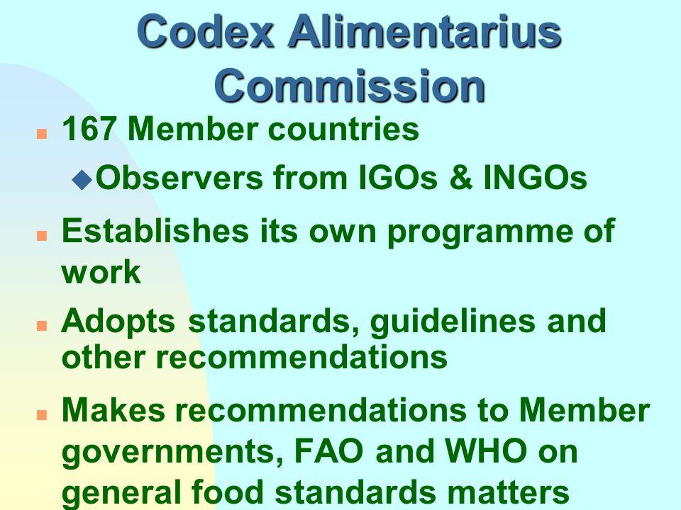 Codex Alimentarius Commission