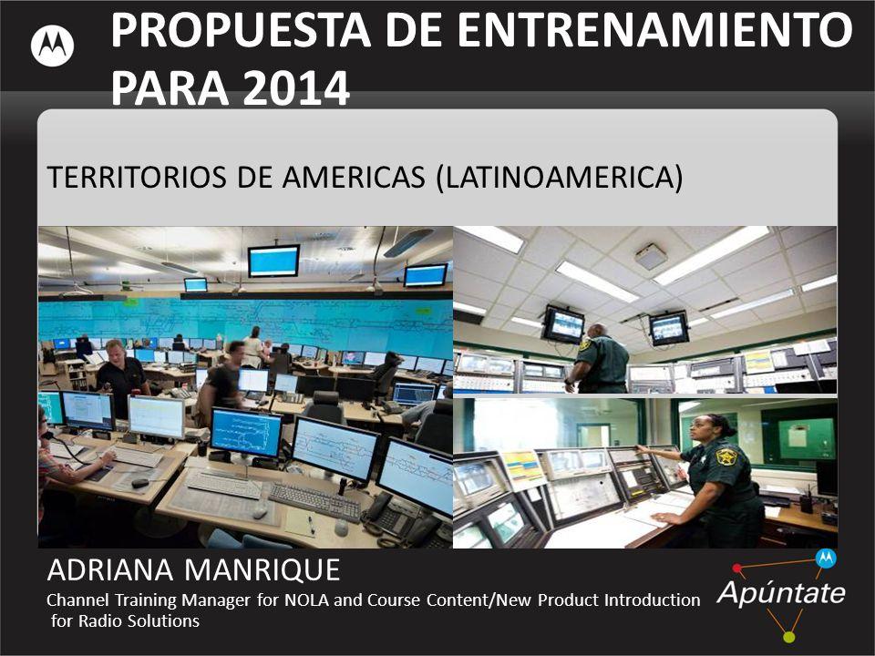 PROPUESTA DE ENTRENAMIENTO PARA 2014