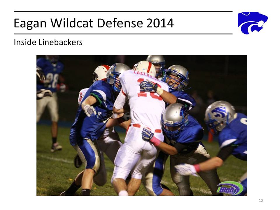 Eagan Wildcat Defense 2014 Inside Linebackers
