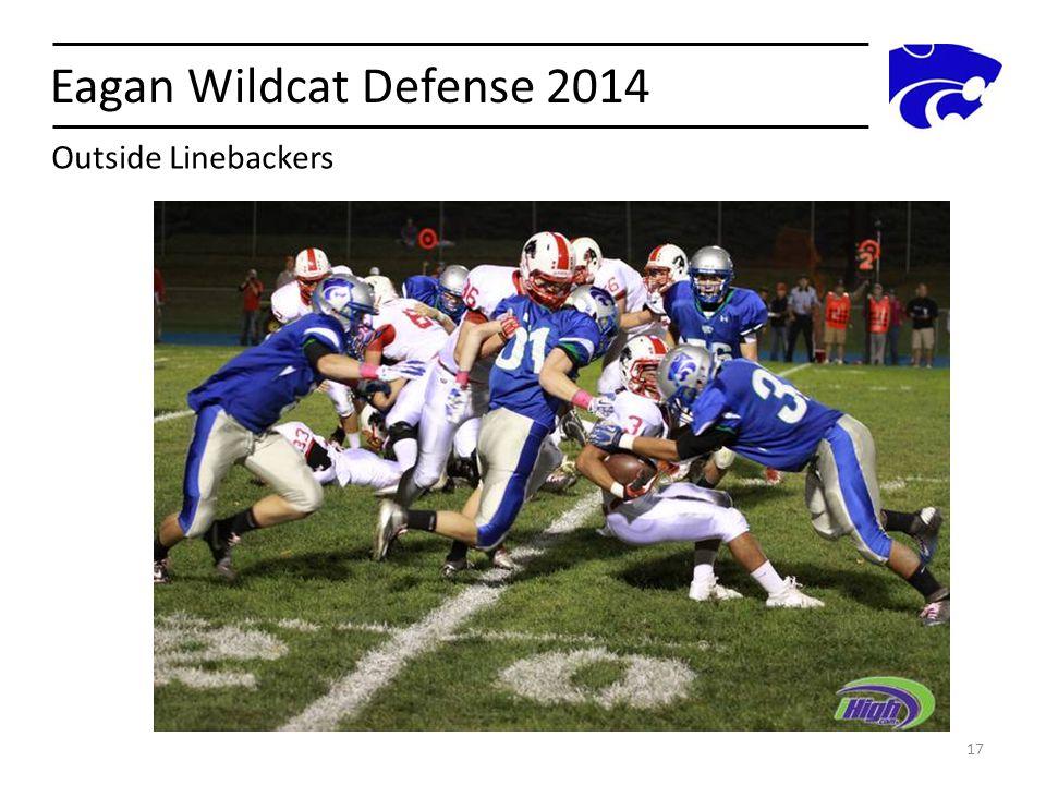 Eagan Wildcat Defense 2014 Outside Linebackers