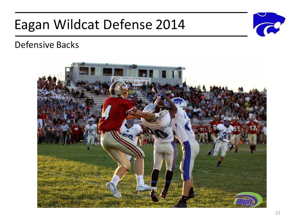 Eagan Wildcat Defense 2014 Defensive Backs