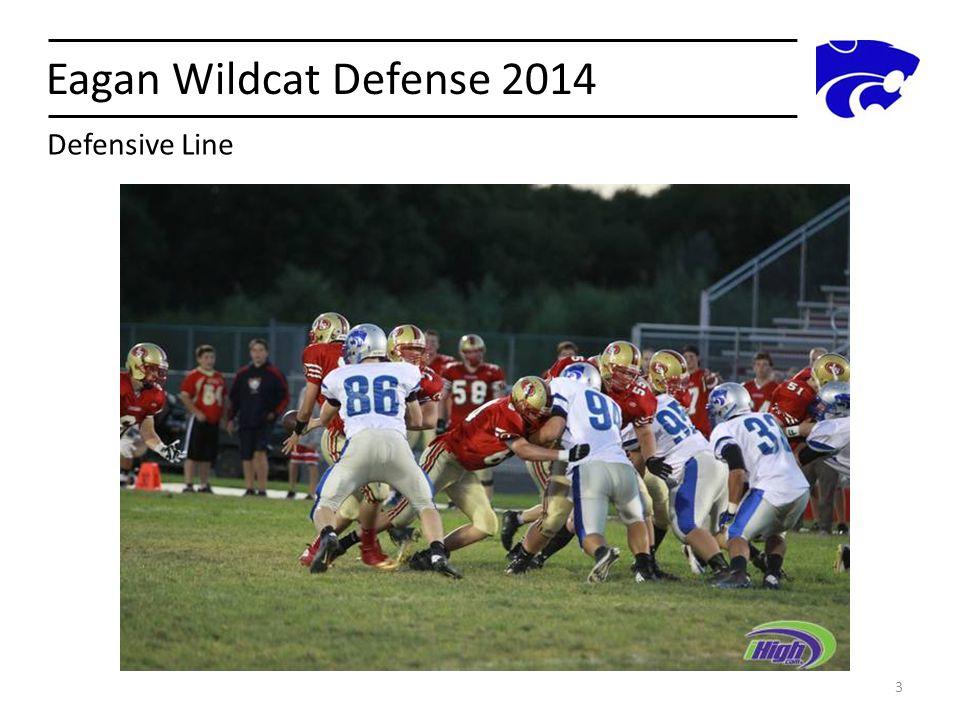 Eagan Wildcat Defense 2014 Defensive Line