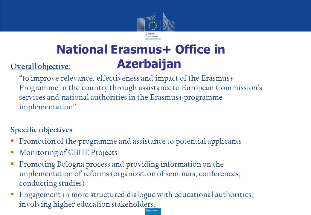 National Erasmus+ Office in Azerbaijan