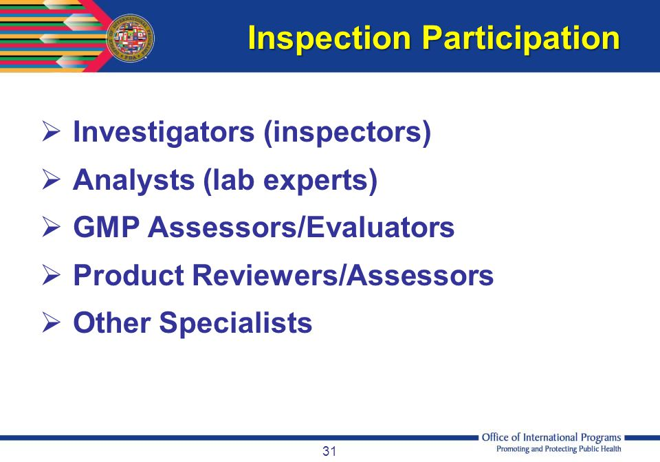 Inspection Participation