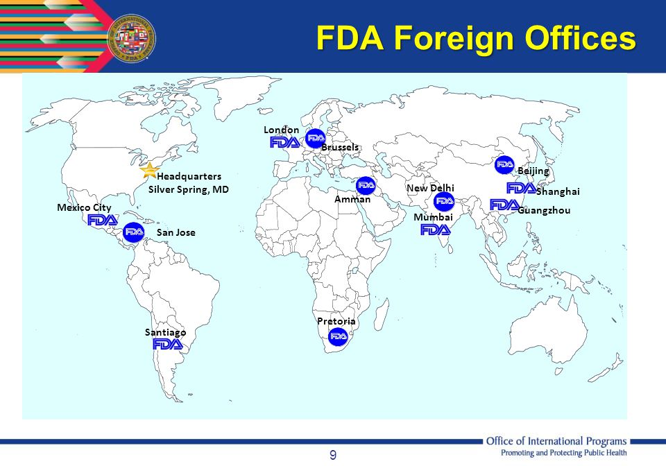 FDA Foreign Offices London Brussels Beijing Headquarters