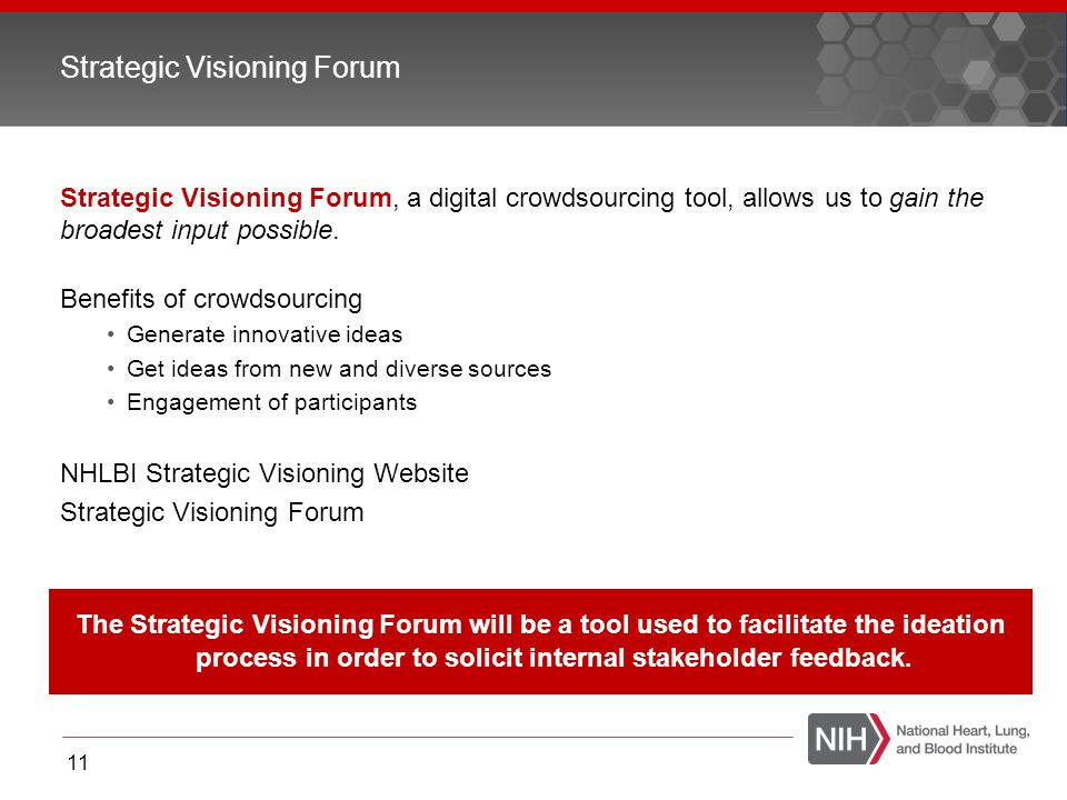 Strategic Visioning Forum