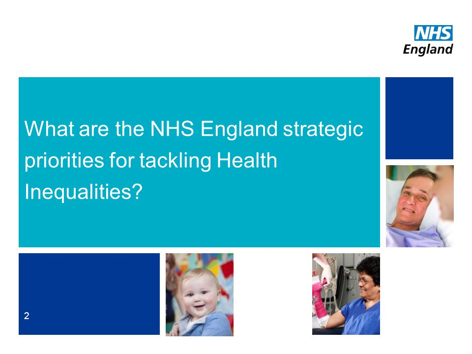 What are the NHS England strategic priorities for tackling Health Inequalities