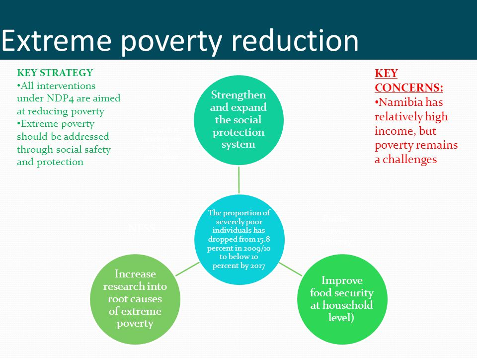 Extreme poverty reduction
