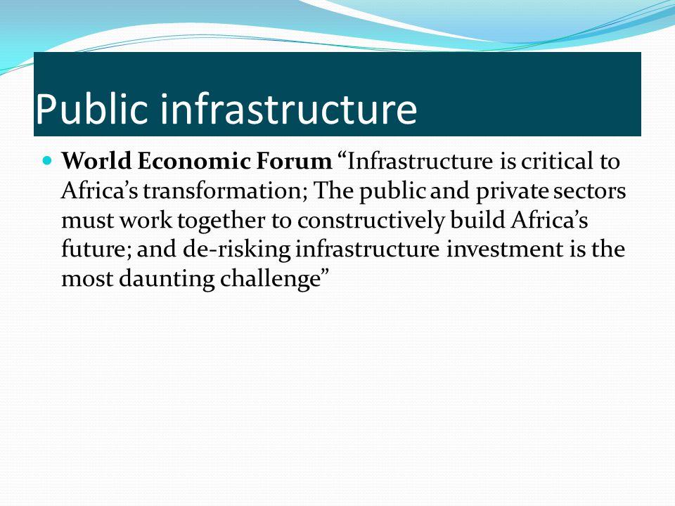 Public infrastructure