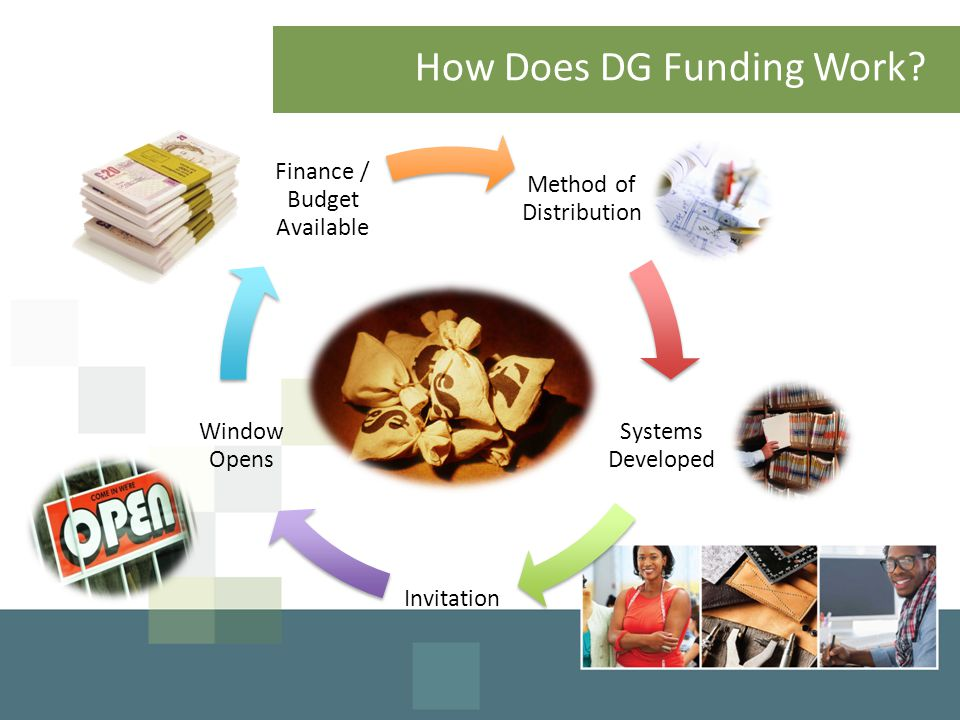 How Does DG Funding Work